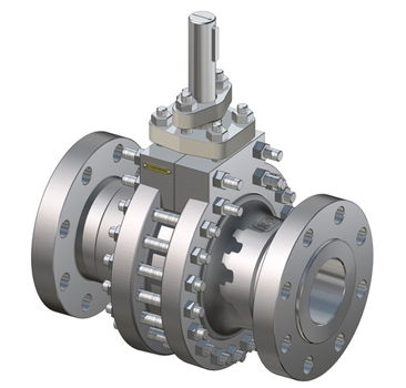 neles trunnion mounted ball valve