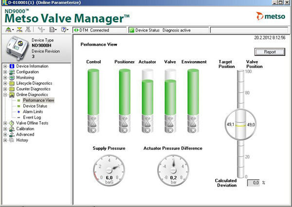 Metso Valve Manager